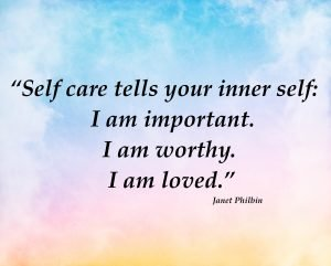 Your commitment to self care is your most important job.
