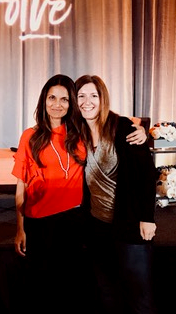 Dr. Shefali Tsabary with Janet